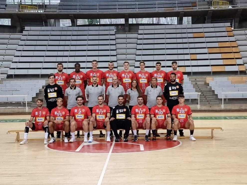 La plantilla del Bada Huesca para la temporada 2021-22.