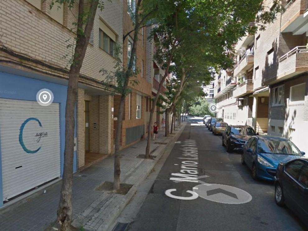 El corte de agua en el distrito Universidad tendrá lugar hoy en la calle de Mariano Lasala Valdés.