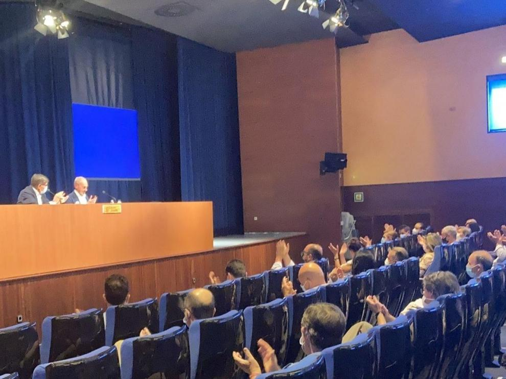 Consejo Territorial del PAR celebrado este sábado en la Residencia Escolar Pignatelli de Zaragoza