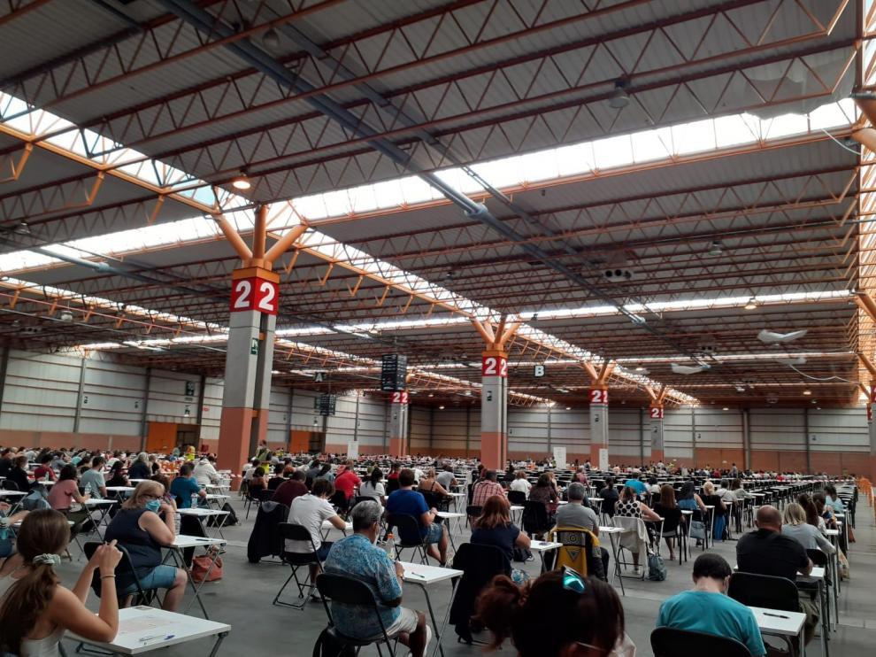 Pruebas para optar a un empleo en Correos celebradas este domingo en Zaragoza