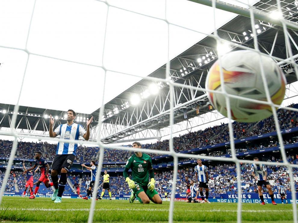 Thomas Lemar marcó en el minuto 99 el segundo gol de la victoria para el Atlético de Madrid contra el Espanyol