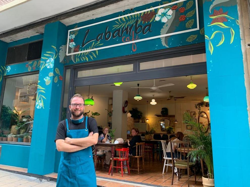 Alberto Brosed, en LaBamba Café.