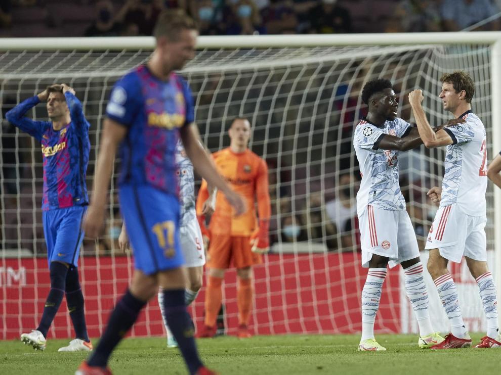Partido de Champions League: FC Barcelona-Bayern