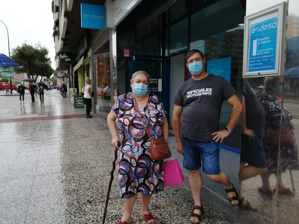 Emilia Palomar, clienta de Endesa afectada por los atrasos en las facturas.