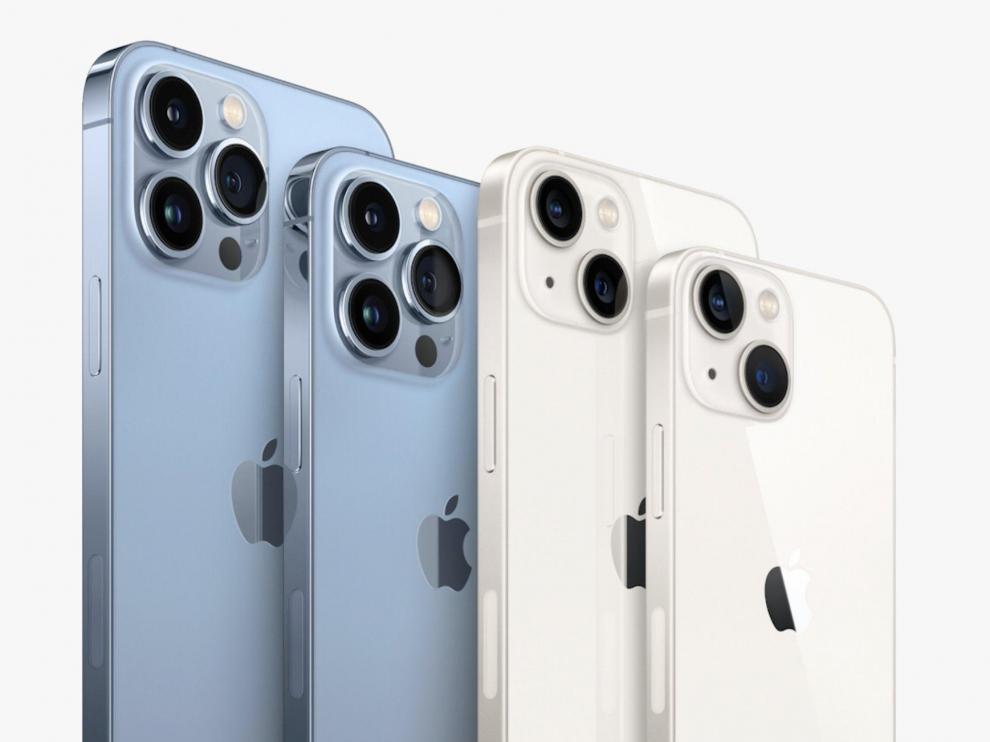 Modelos del iPhone 13