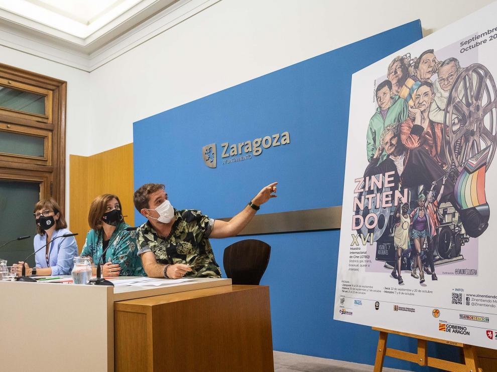 Presentación en rueda de prensa de la XVI edición de Zinentiendo,