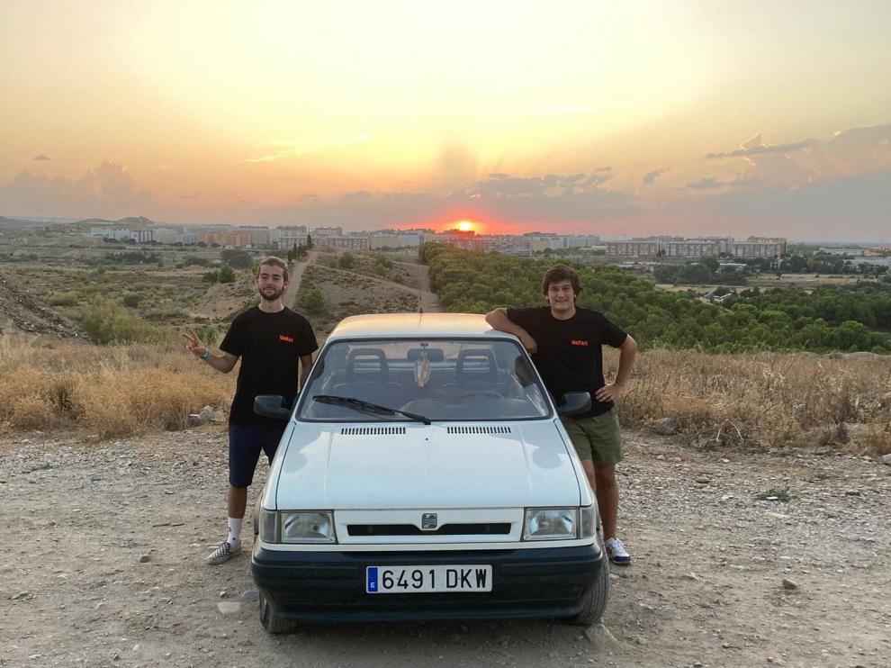 Dos estudiantes de Ingeniería zaragozanos participarán en la carrera solidaria Uniraid.