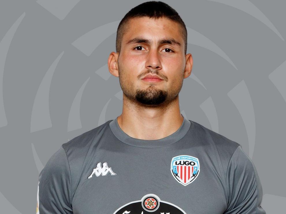 Francisco Barbosa Vieites, portero de 22 años del Lugo.
