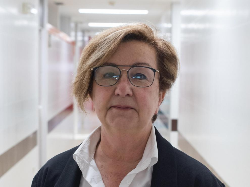 Chaverri es una de las responsables de la planificación de la campaña de vacunación en Aragón
