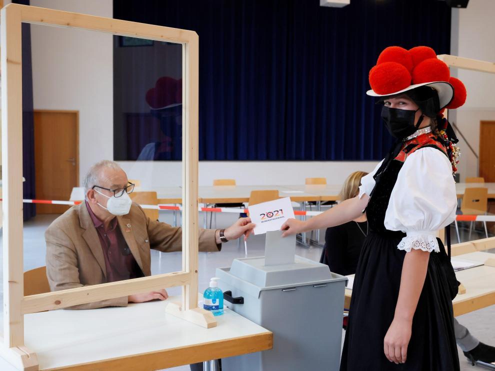 Jornada electoral en Alemania.