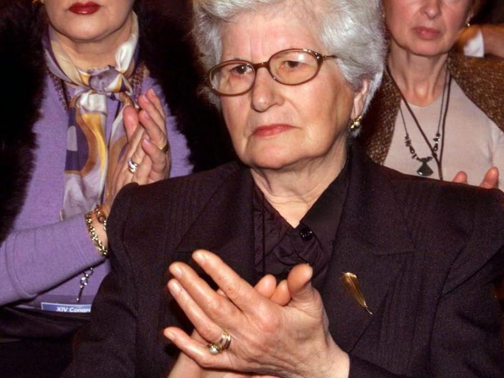 Muere la madre de Gregorio Ordóñez, Consuelo Fenollar.