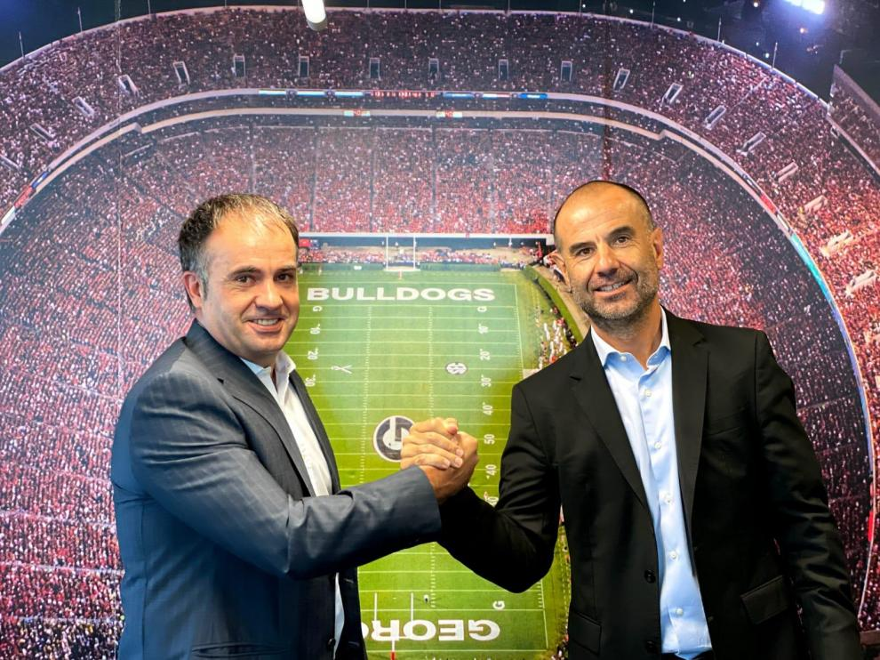 Los hermanos Álvaro y Gonzalo Corrales, dos de los fundadores de AGM Sports.