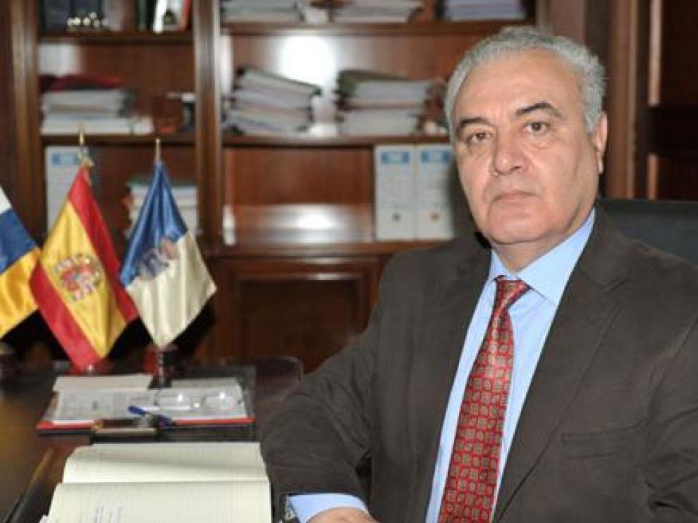 El jefe del Pevolca, Miguel Ángel Morcuende