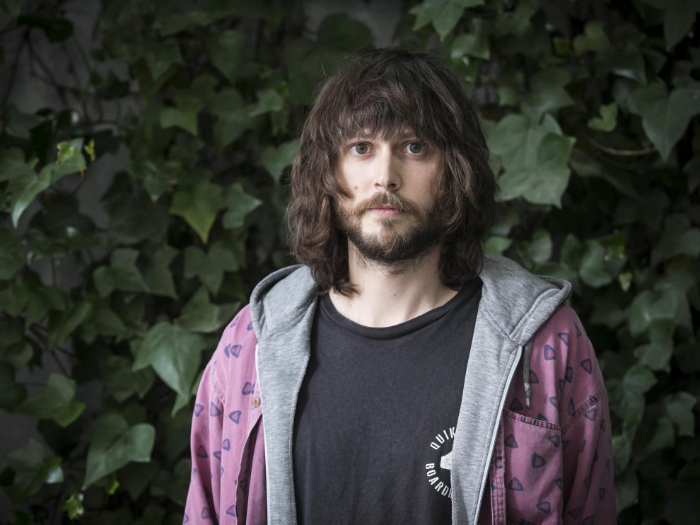 El músico zaragozano Javier Idoipe.