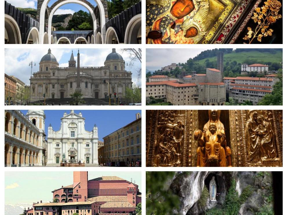 Diez santuarios marianos que visitar en Europa (además de la basílica del Pilar)