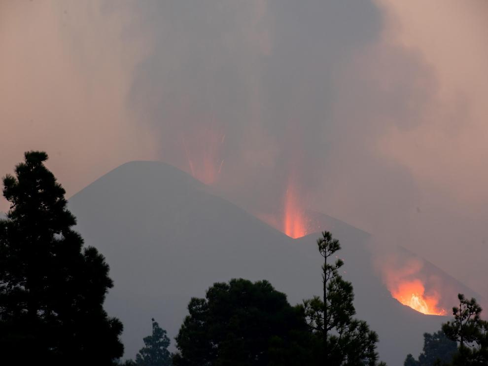 La erupción del volcán Cumbre Vieja continúa en La Palma