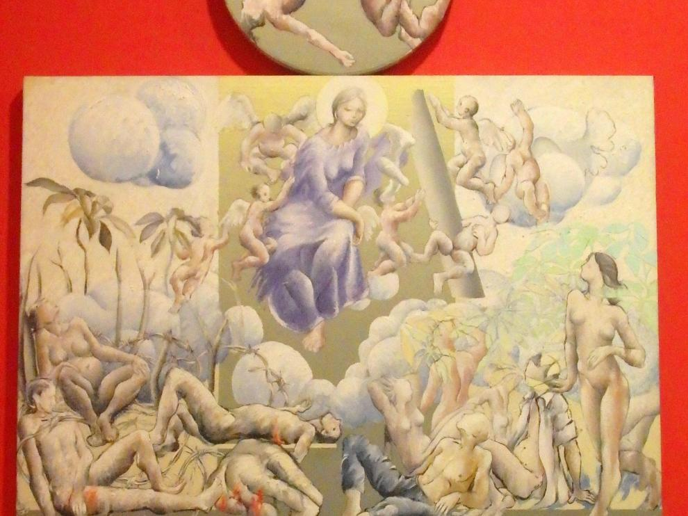 La obra de Pascual Blanco, 'Virgen de la Paz'.