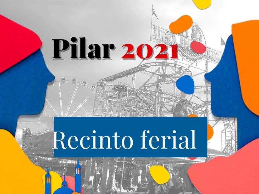 Recinto ferial de las 'no fiestas' del Pilar 2021 en Zaragoza