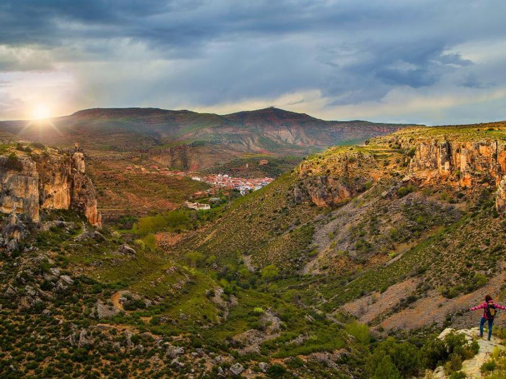 Vista de La Coquinera.