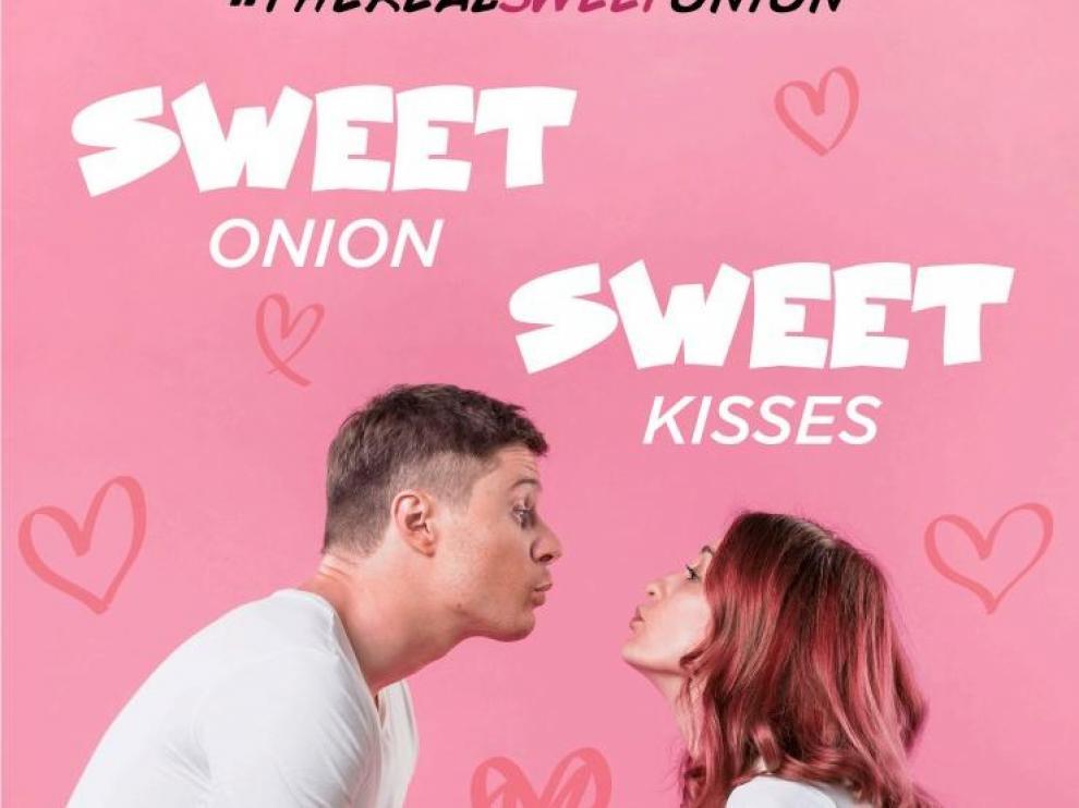 Campaña de 'The Real Sweet Onion', la marca de cebolla dulce ideada por 3lemon para la firma aragonesa Jumosol