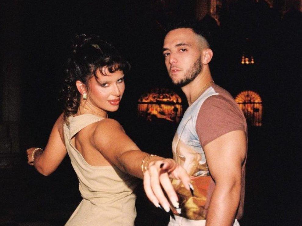 Nathy Peluso y C. Tangana, en el videoclip.