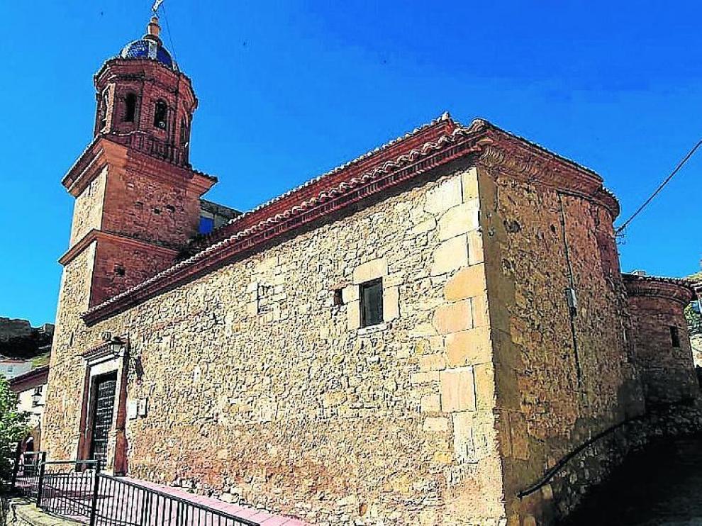 Vista general de la iglesia.
