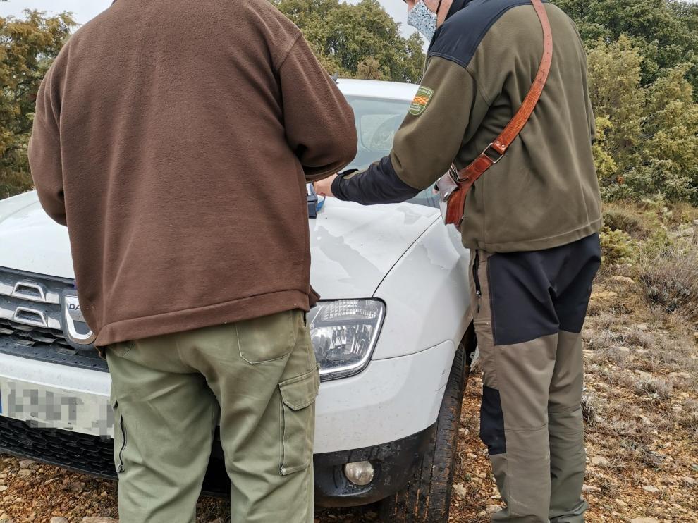 Los Agentes de Protección de la Naturaleza (APN) del Gobierno de Aragón han denunciado prácticas de furtivismo