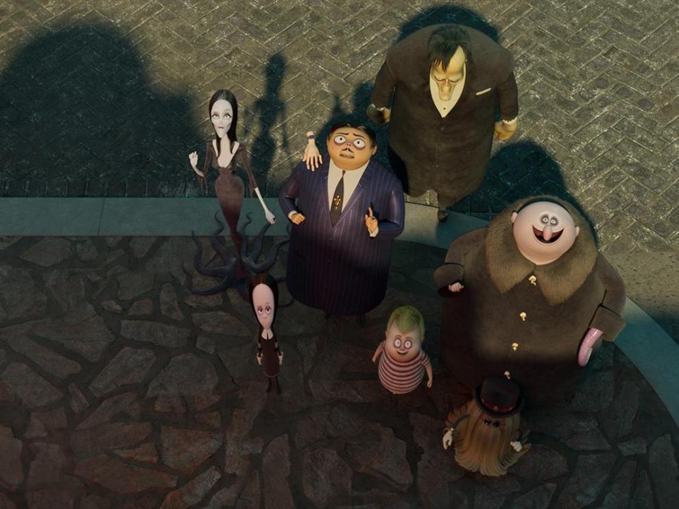 Fotograma de 'La familia Addams 2'.