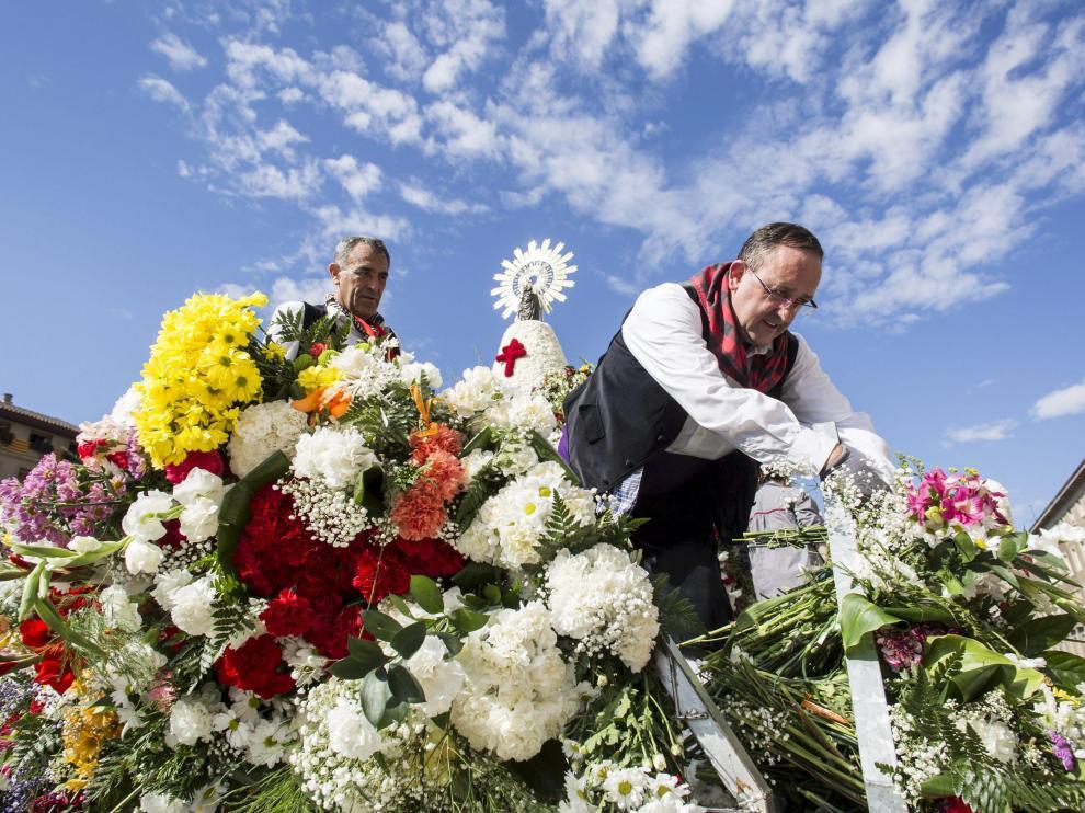 La Ofrenda de Flores es un símbolo de la identidad colectiva de los aragoneses.