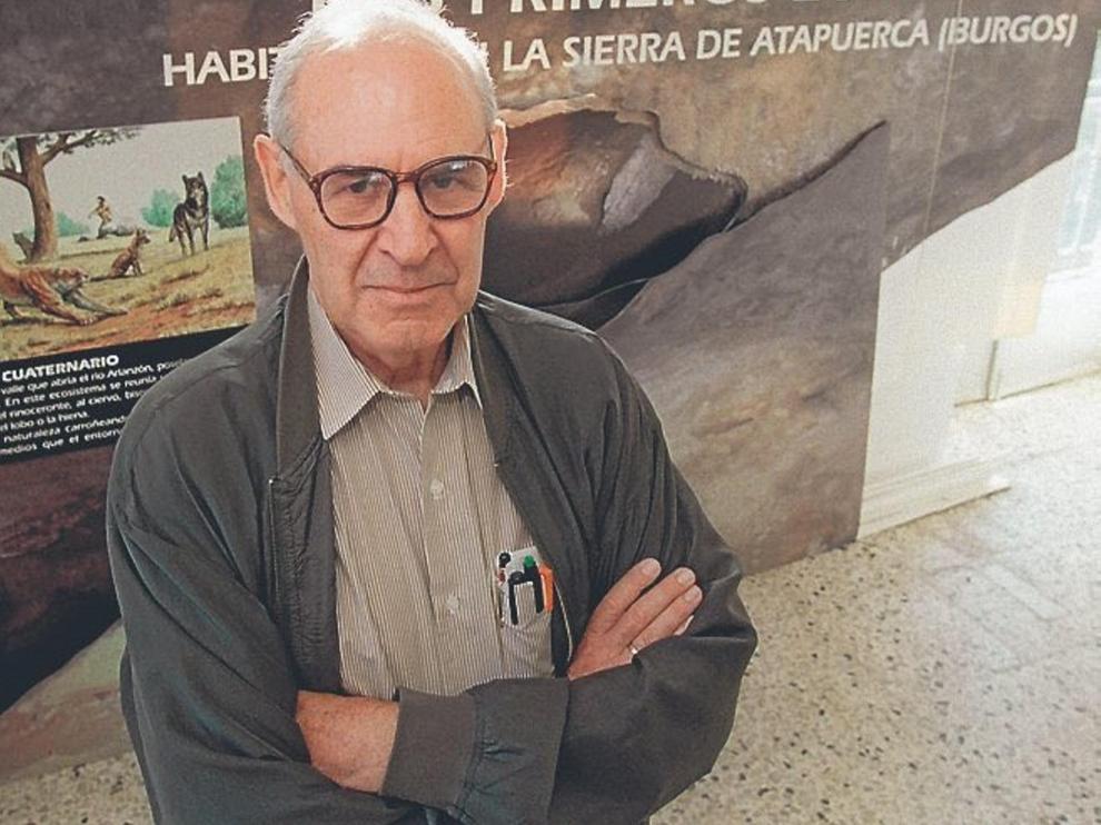 Emiliano Aguirre, paleontólogo descubridor de Atapuerca.