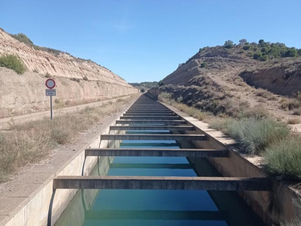 Foto del Canal de Monegros.