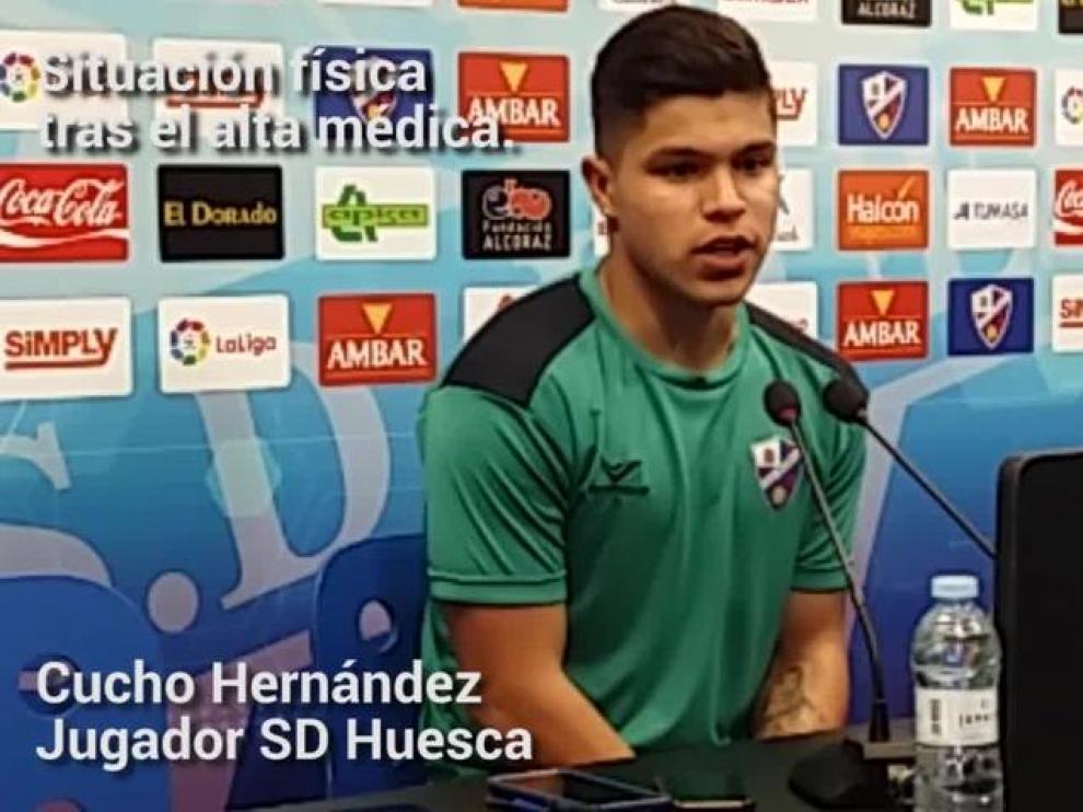 """Cucho Hernández: """"Si juego mejor, si no, esperaré con muchas ganas"""""""