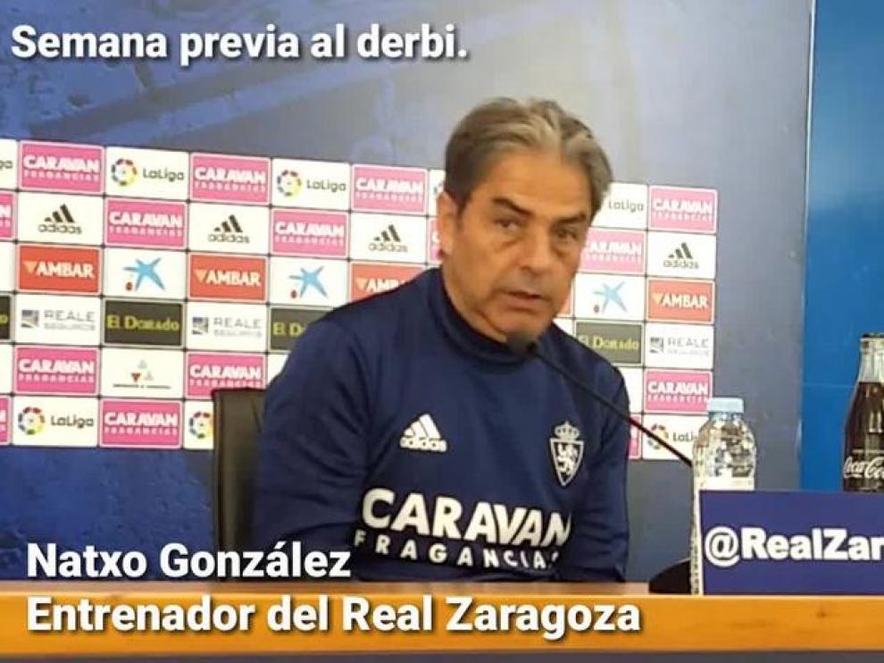 """Natxo González: """"Tenemos que hacer muchas cosas bien para poder ganar"""""""