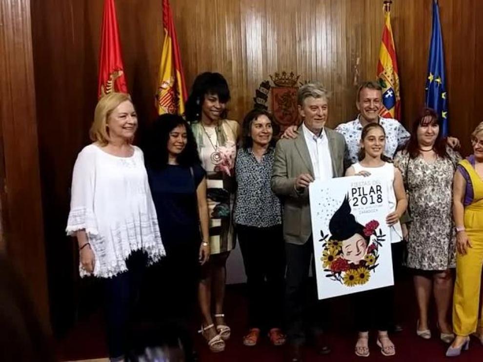Siete mujeres darán el pregón de las fiestas del Pilar 2018