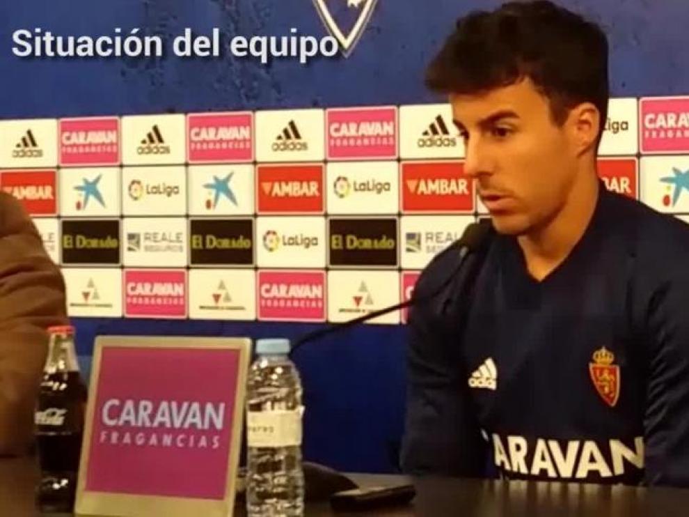 """Diego Aguirre: """"Estamos pensando en Granada y en darle un alegría a nuestra afición"""""""