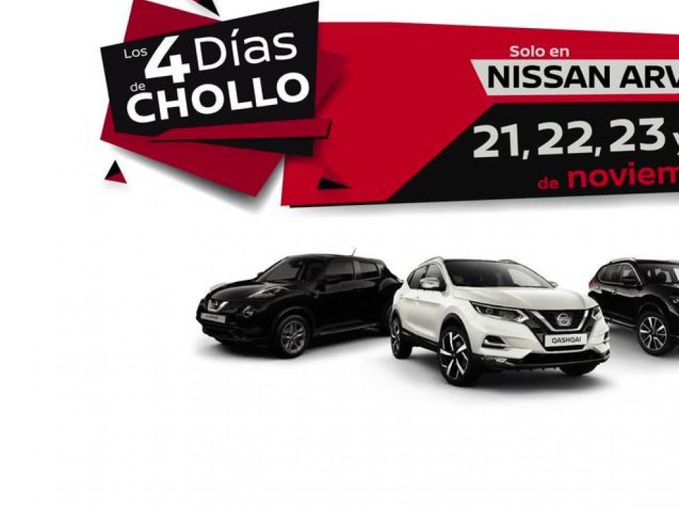 Cuatro días de increíbles descuentos en Nissan Arvesa