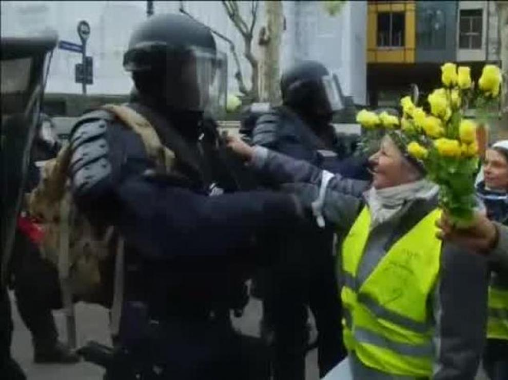 Más de 700 detenidos en una movilización con más de 30.000 participantes