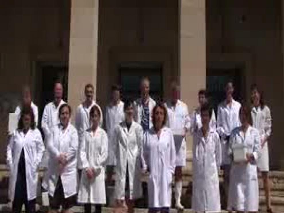Investigación y cubos de agua helada para ayudar a los 90 enfermos de ELA en Aragón