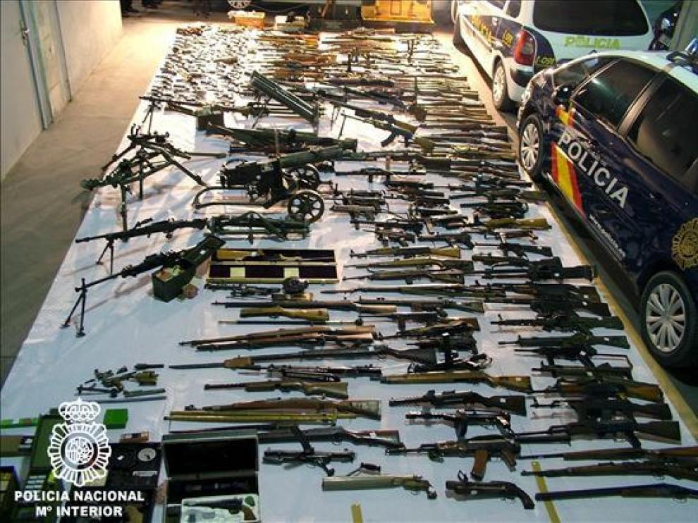 Parte del arsenal