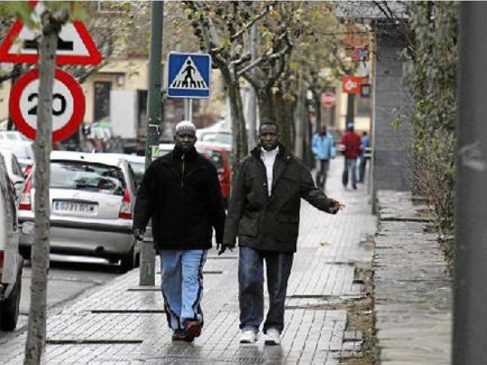 La población inmigrante del Perpetuo Socorro alcanza ya el 23% y duplica la media de Huesca