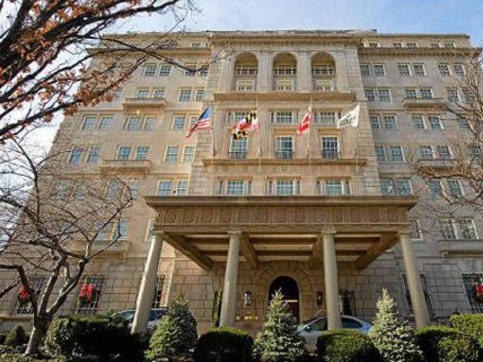 El hotel Hay-Adams se encuentra a tan solo una manzana de distancia de la Casa Blanca