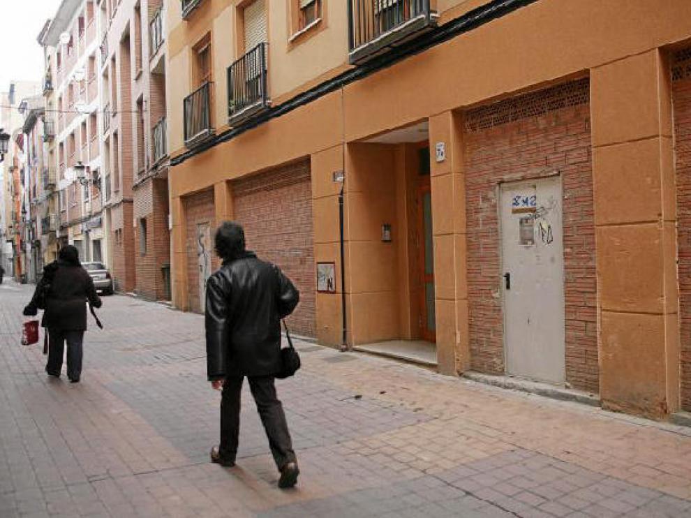 Varios de los locales que se pondrán a disposición de los emprendedores se ubican en la calle de San Pablo.