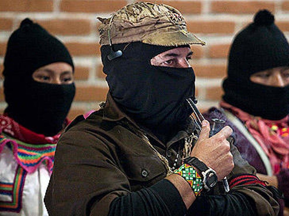 """Imagen del """"subcomandante Marcos"""""""
