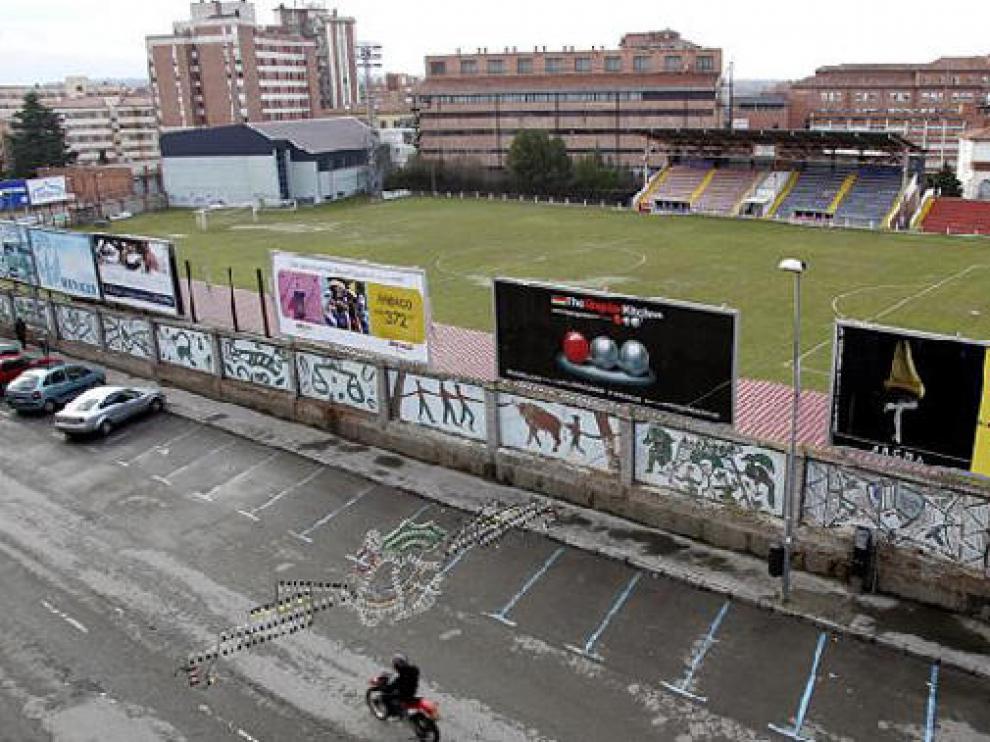 El centro comercial, cultural y de ocio ocuparía las actuales instalaciones del campo de fútbol.