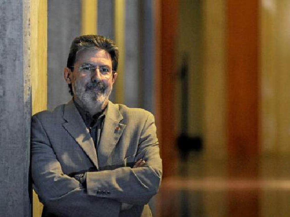 Adolfo Barrena es el coordinador general de IU-Aragón.