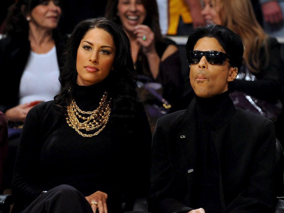 Prince en un partido de baloncesto reciente