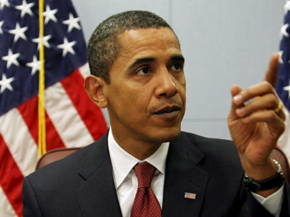 El presidente electo de EE.UU. Barack Obama