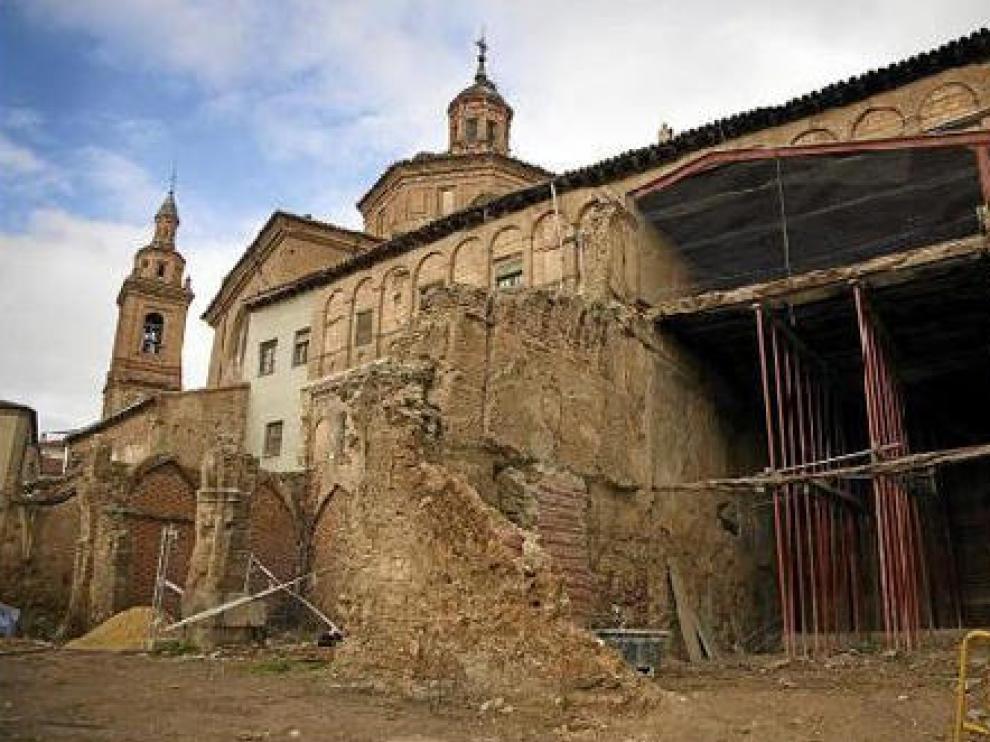 La consolidación de la colegiata está lista para comenzar con la restauración del edificio