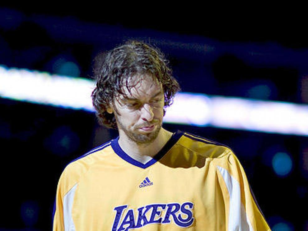 Mal partido de los Lakers con un flojo Gasol