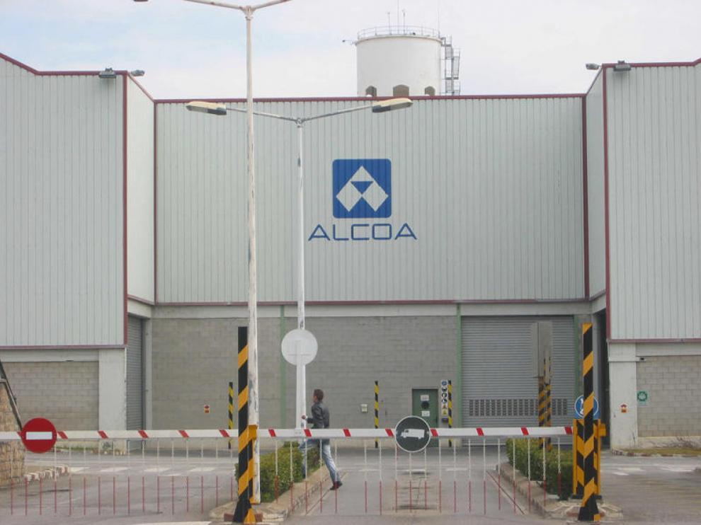 Factoría de Alcoa en Sabiñánigo